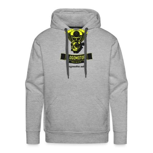 logomotor logo - Männer Premium Hoodie