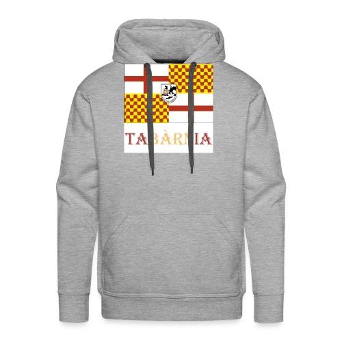Bandera Tabarnia con escudo y nombre - Sudadera con capucha premium para hombre