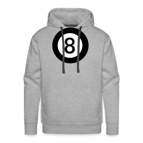Black 8 - Men's Premium Hoodie