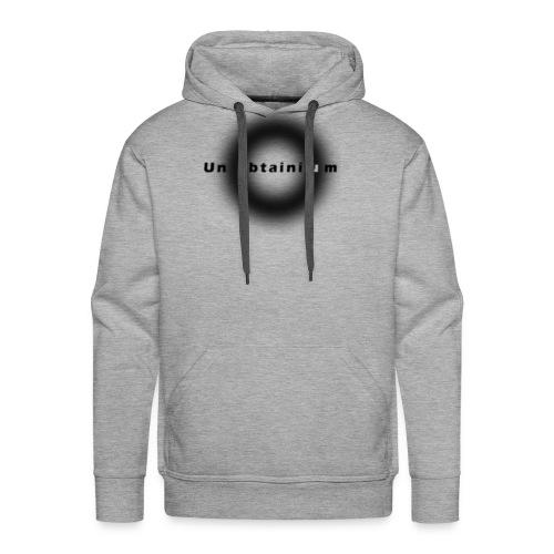 Unobtainium Cricle Logo Black - Männer Premium Hoodie