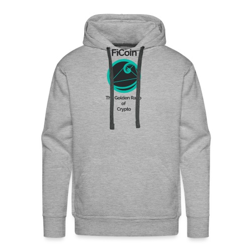 Golden ratio darktext - Mannen Premium hoodie