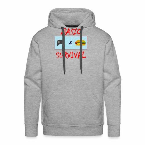Basic Survival - Men's Premium Hoodie