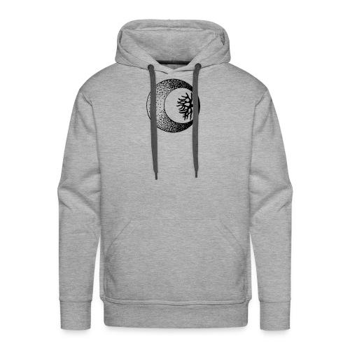 logo retouche - Sweat-shirt à capuche Premium pour hommes
