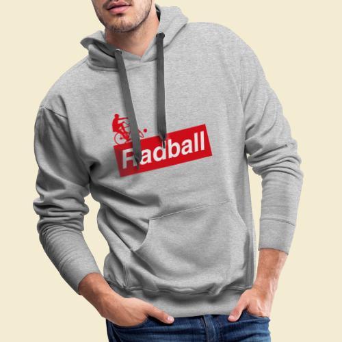 Radball | Red - Männer Premium Hoodie