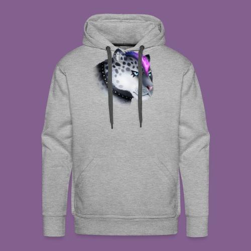 nieve guepardo del punk - Sudadera con capucha premium para hombre
