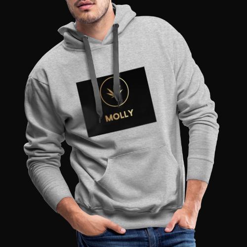 MOLLY - Herre Premium hættetrøje