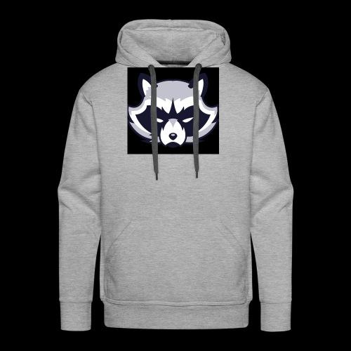 WaschbeerKopf Logo :) - Männer Premium Hoodie