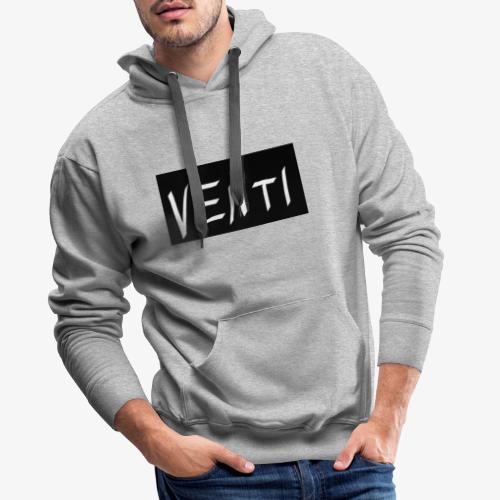VENTI official merchandising - Felpa con cappuccio premium da uomo