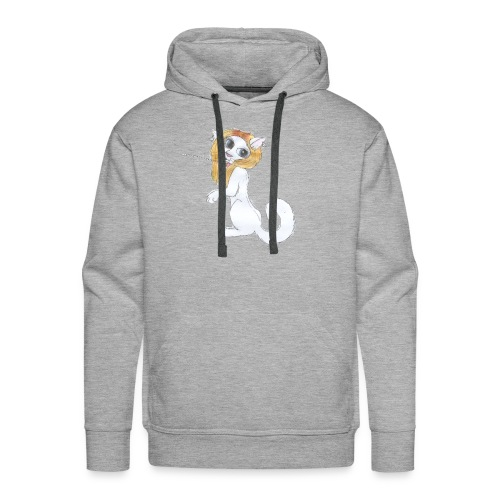 Comic Katze - Männer Premium Hoodie