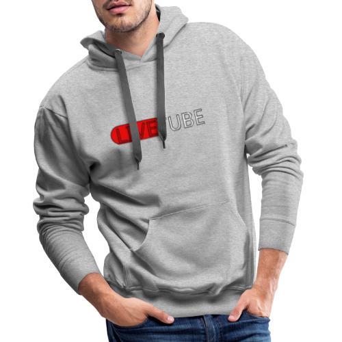 Livetube - Herre Premium hættetrøje