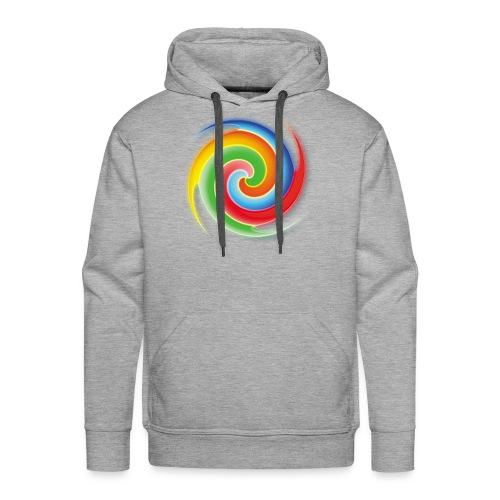 deisold rainbow Spiral - Männer Premium Hoodie