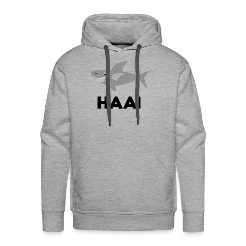 haai hallo hoi - Mannen Premium hoodie