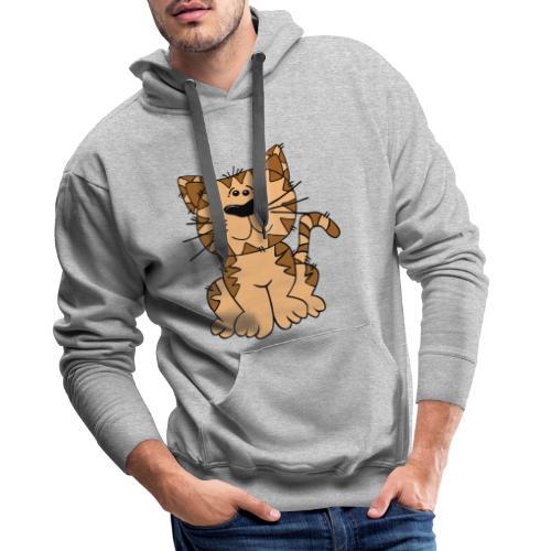 cat 46676 - Sudadera con capucha premium para hombre