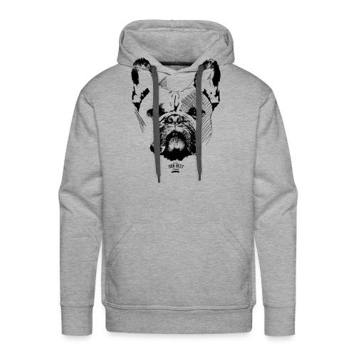 Französische Bulldogge Sketch - Männer Premium Hoodie