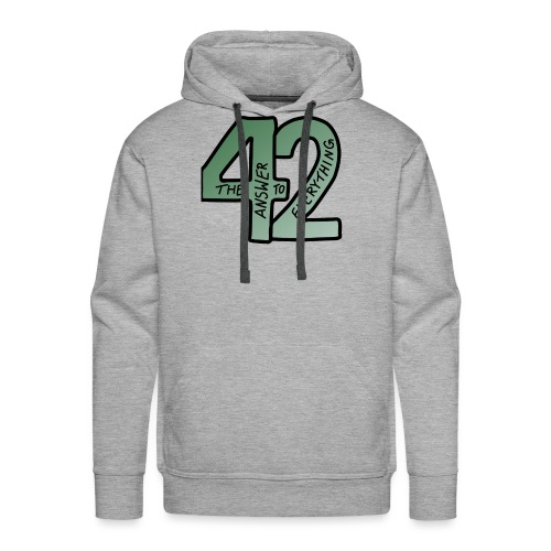 the Answer to EVERYTHING - Männer Premium Hoodie