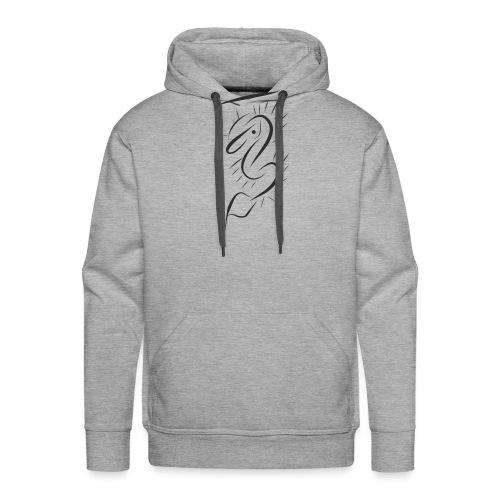 Ouamira strong - Sweat-shirt à capuche Premium pour hommes