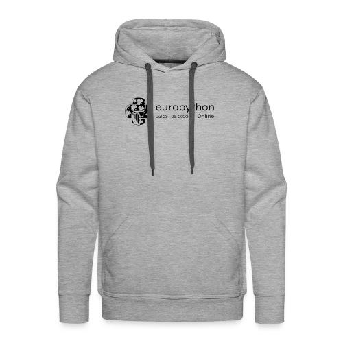 EuroPython 2020 - Black Logo - Men's Premium Hoodie