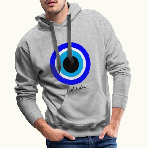 luck eye - Mannen Premium hoodie
