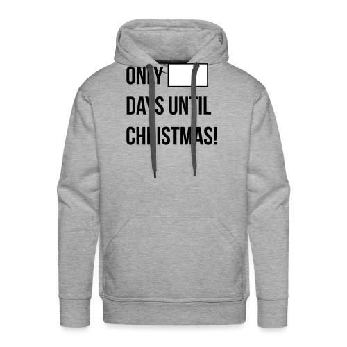 Christmas Countdown - Men's Premium Hoodie