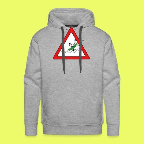 Kajak Unfall im Dreieck - Männer Premium Hoodie