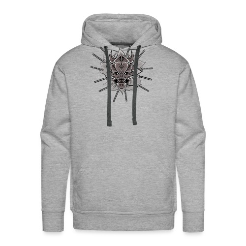 Lotus Of The Samurai - Mannen Premium hoodie