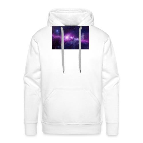 tshirt galaxy - Sweat-shirt à capuche Premium pour hommes