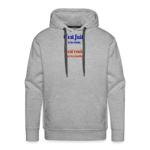Roulé sous les aiselles - Sweat-shirt à capuche Premium pour hommes