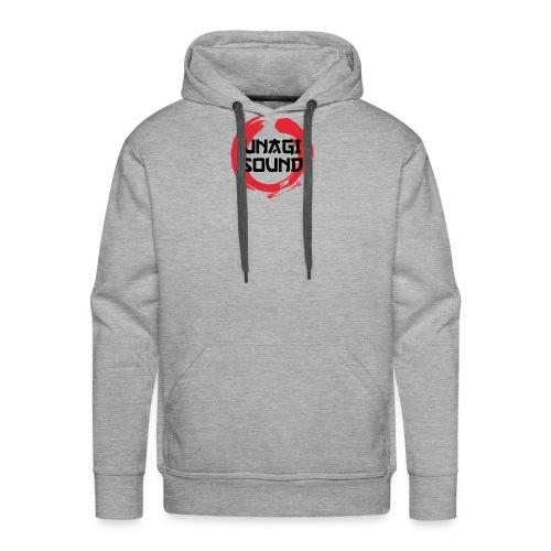 UNAGI SOUND LOGO - Men's Premium Hoodie