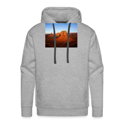 Desert - Sweat-shirt à capuche Premium pour hommes