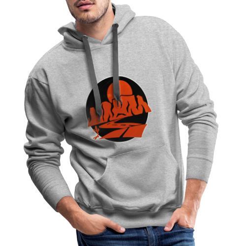 INSIDE THE CANYON VINTAGE - Sweat-shirt à capuche Premium pour hommes