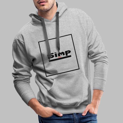 Standard Simp Logo Design - Mannen Premium hoodie