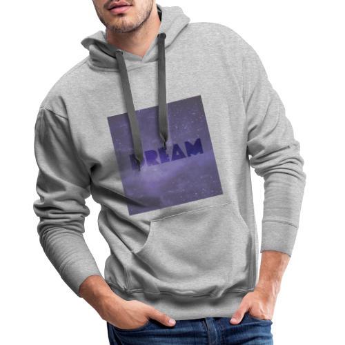 Cosmique DREAM - Sweat-shirt à capuche Premium pour hommes