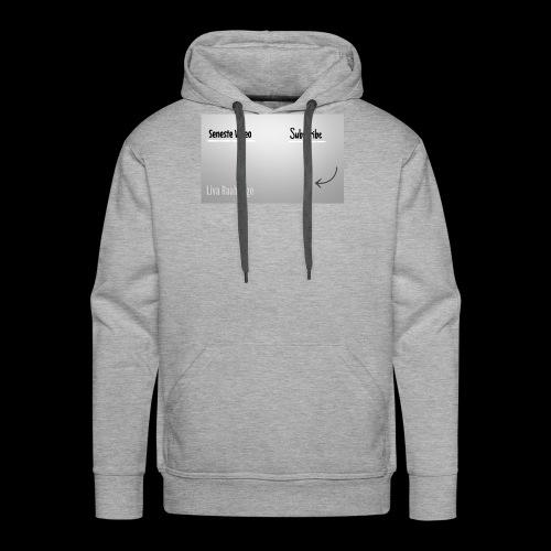 Raahauge Merch - Herre Premium hættetrøje