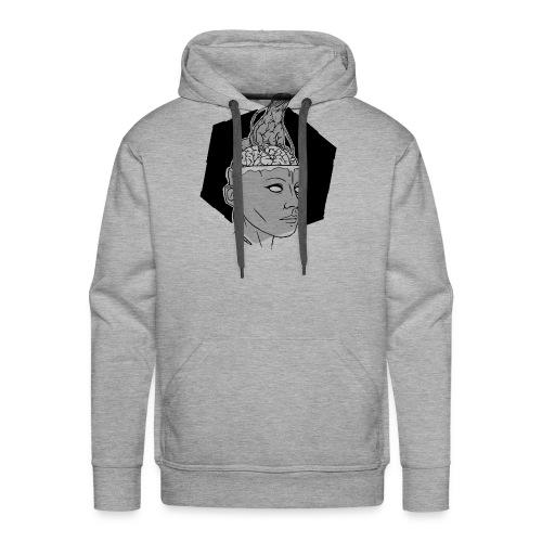 Augmented Humans - Iguana - Sweat-shirt à capuche Premium pour hommes