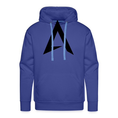 alpharock A logo - Men's Premium Hoodie