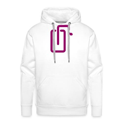 Liquidsoap logo - Sweat-shirt à capuche Premium pour hommes