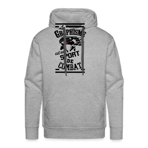 Graphisme - Sweat-shirt à capuche Premium pour hommes