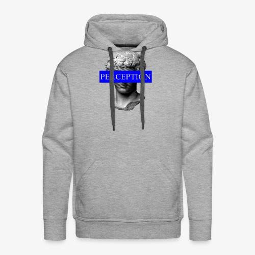 TETE GRECQ BLUE - PERCEPTION CLOTHING - Sweat-shirt à capuche Premium pour hommes