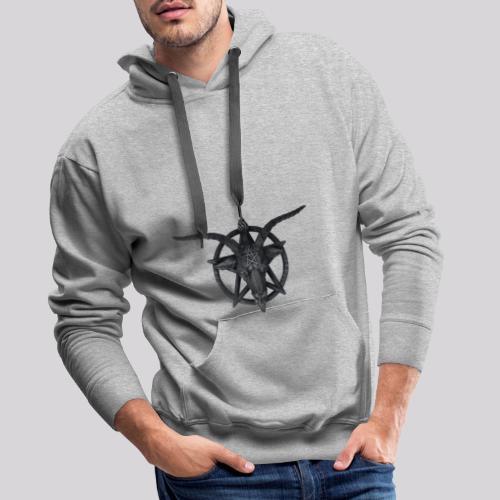 Pentagrama satanas - Sudadera con capucha premium para hombre
