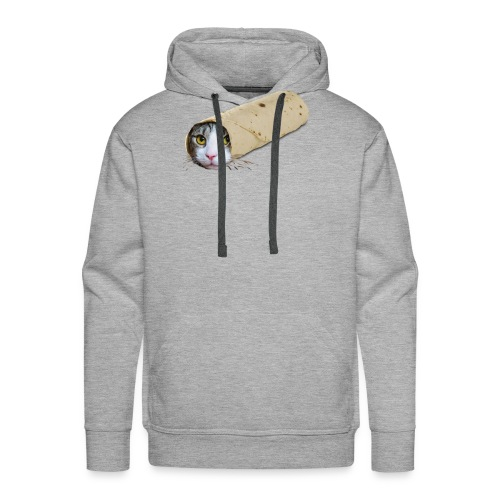 purrrito - Mannen Premium hoodie