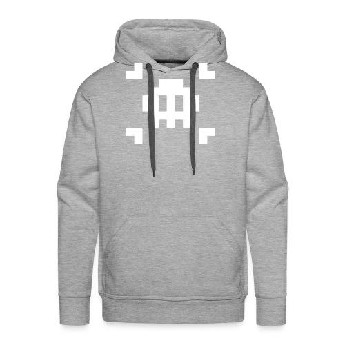 Mug Pixel Skull - Sweat-shirt à capuche Premium pour hommes