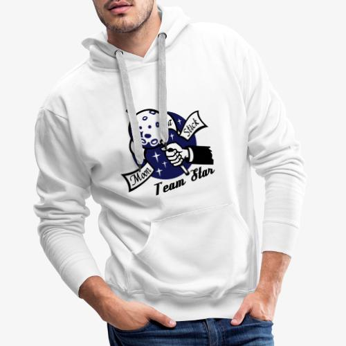 Moon on a Stick - Team Star - Men's Premium Hoodie