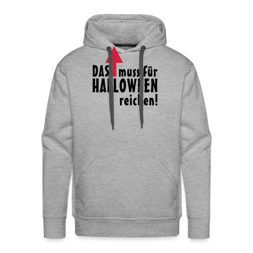 HALLOWEEN Pfeil - Männer Premium Hoodie