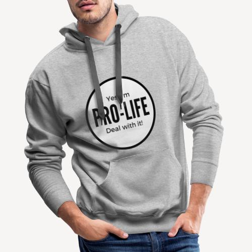 pro-lifer - Men's Premium Hoodie