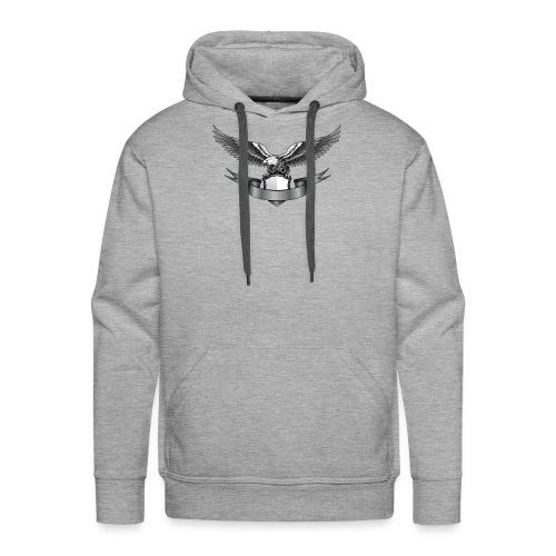 Eagle - Sweat-shirt à capuche Premium pour hommes
