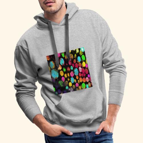 Tronchi arcobaleno - Felpa con cappuccio premium da uomo