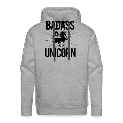 Badass Unicorn - Men's Premium Hoodie