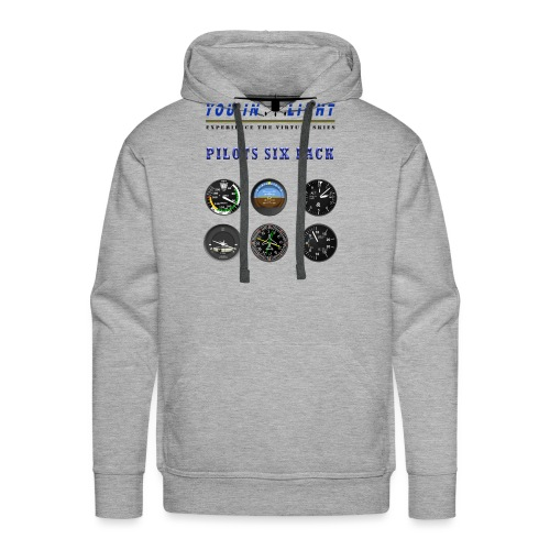 Pilots six pack shirts - Herre Premium hættetrøje