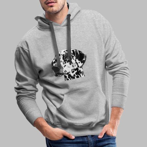 Dalmatiner Kopf Hund - Männer Premium Hoodie
