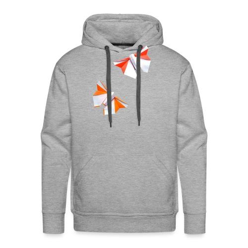 Butterflies Origami - Butterflies - Mariposas - Men's Premium Hoodie